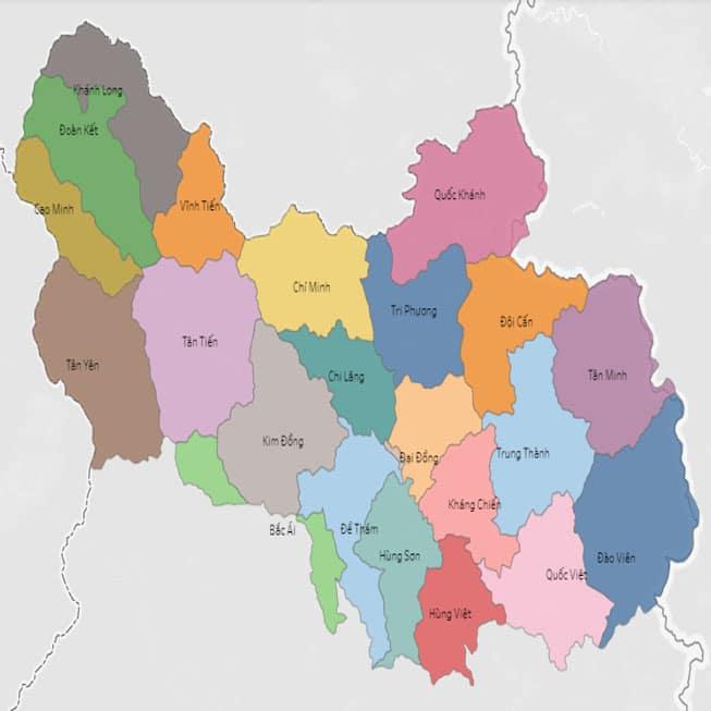 Giới thiệu khái quát huyện Tràng Định