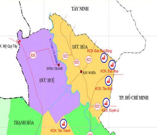 Giới thiệu khái quát huyện Đức Hòa - Tỉnh Long An - vansudia.net
