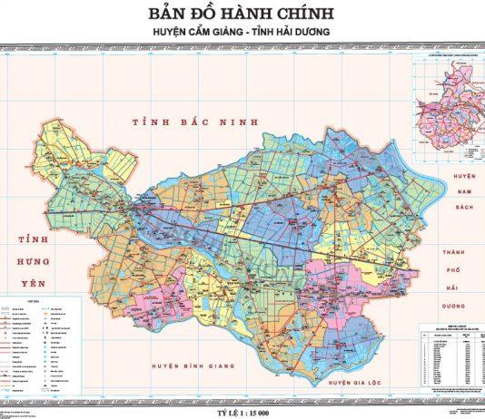 huyện Cẩm Giàng - Tỉnh Hải Dương