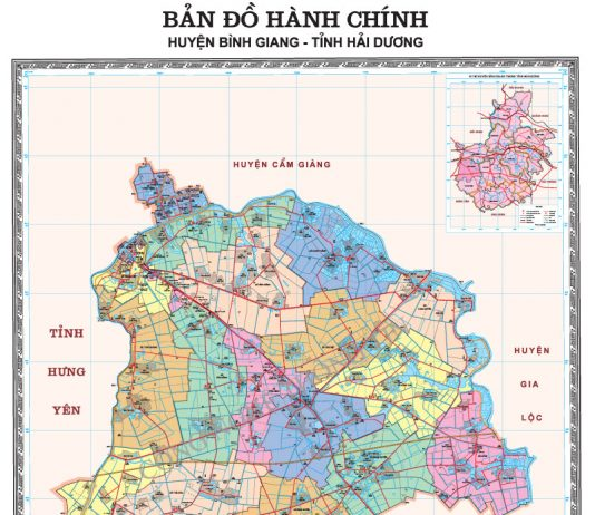 huyện Bình Giang - Tỉnh Hải Dương