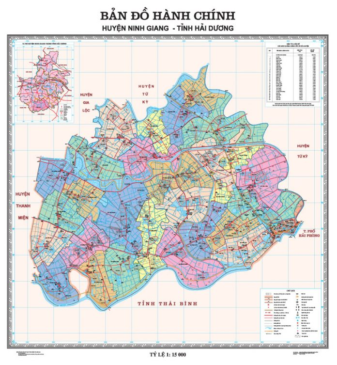 huyện Ninh Giang - Tỉnh Hải Dương