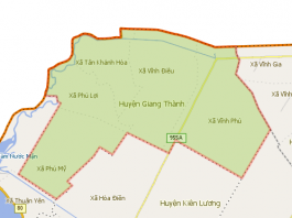 Giới thiệu khái quát huyện Giang Thành