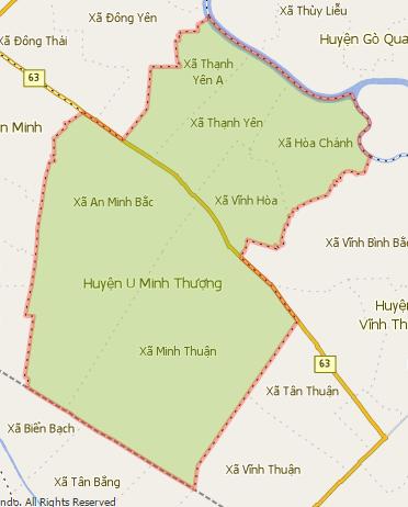Giới thiệu khái quát huyện U Minh Thượng