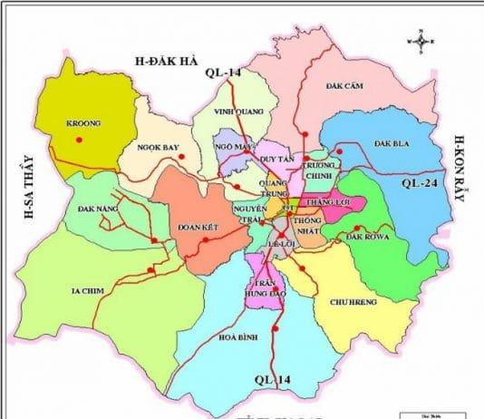 Giới thiệu khái quát thành phố Kon Tum