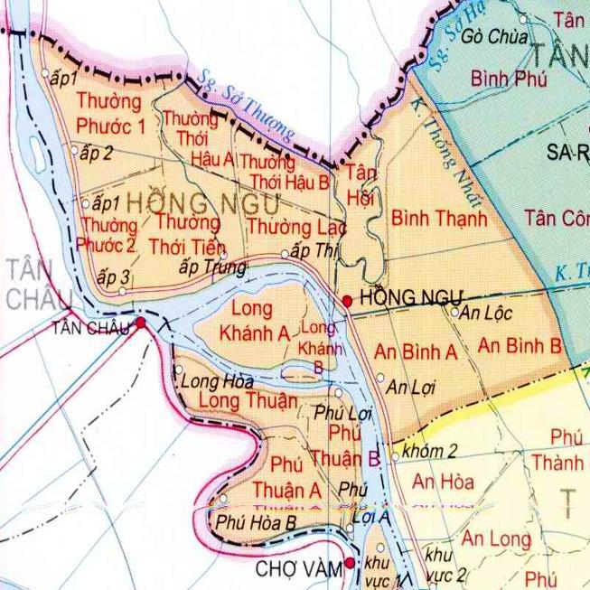 huyện Hồng Ngự - Tỉnh Đồng Tháp
