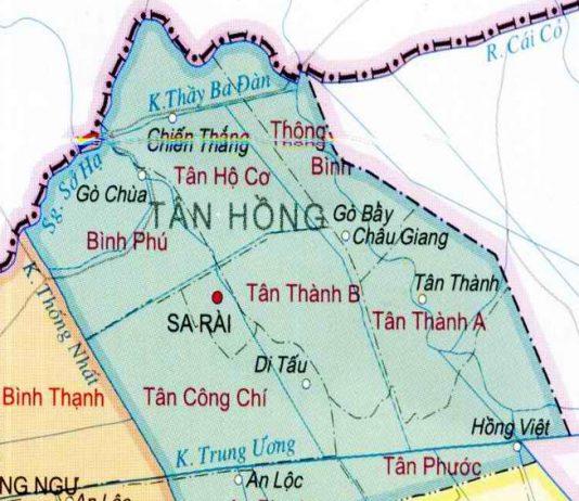 huyện Tân Hồng - Tỉnh Đồng Tháp