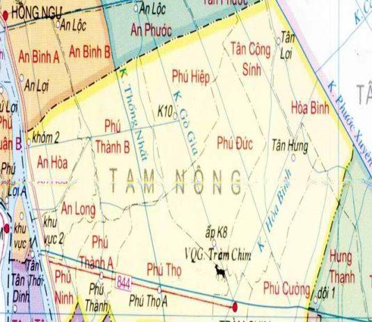 huyện Tam Nông - Tỉnh Đồng Tháp