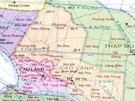 thành phố Cao Lãnh - Tỉnh Đồng Tháp