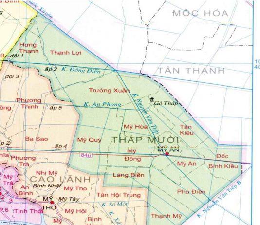 huyện Tháp Mười - Tỉnh Đồng Tháp