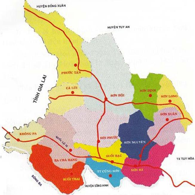 huyện Sơn Hòa - Tỉnh Phú Yên