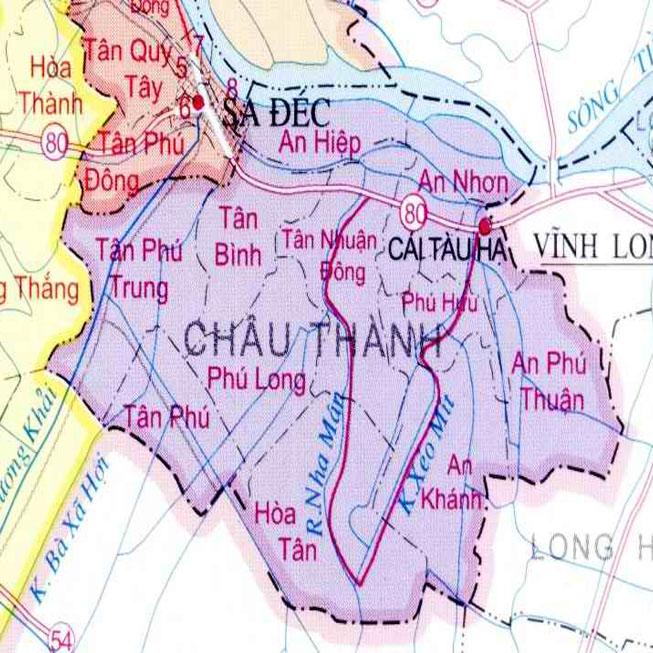 huyện Châu Thành - Tỉnh Đồng Tháp
