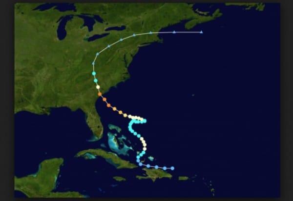 Hình ảnh đường đi của cơn bão Chanchu 2006