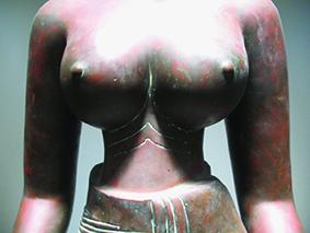 Tượng Tara: Phần vai - ngực và eo