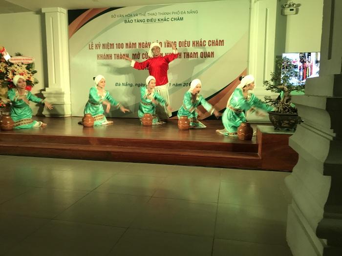 Kỷ niệm 100 năm Bảo tàng Điêu khắc Chăm Đà Nẵng2
