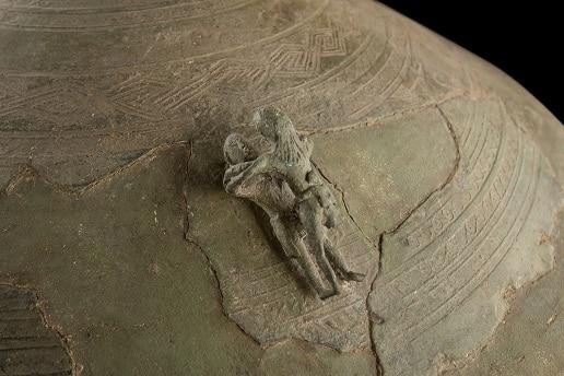 Thạp đồng Đào Thịnh được phát hiện tại thôn Đào Thịnh