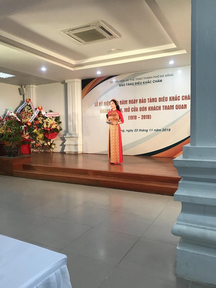 Kỷ niệm 100 năm Bảo tàng Điêu khắc Chăm Đà Nẵng 5
