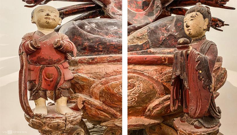 Bức tượng gần 500 năm tuổidường như đã có một số phận riêng, được người đời tìm cách lưu giữ qua nhiều thế hệ. Sau lần tháo dỡ năm 1965, bức tượng bị tách rời thêm hai lần dưới sự kiểm soát của bảo tàng để đi sơ tán ở Tuyên Quang và Đà Lạt, tránh nguy cơ bị phá huỷ trong những năm chiến tranh 1975, 1979