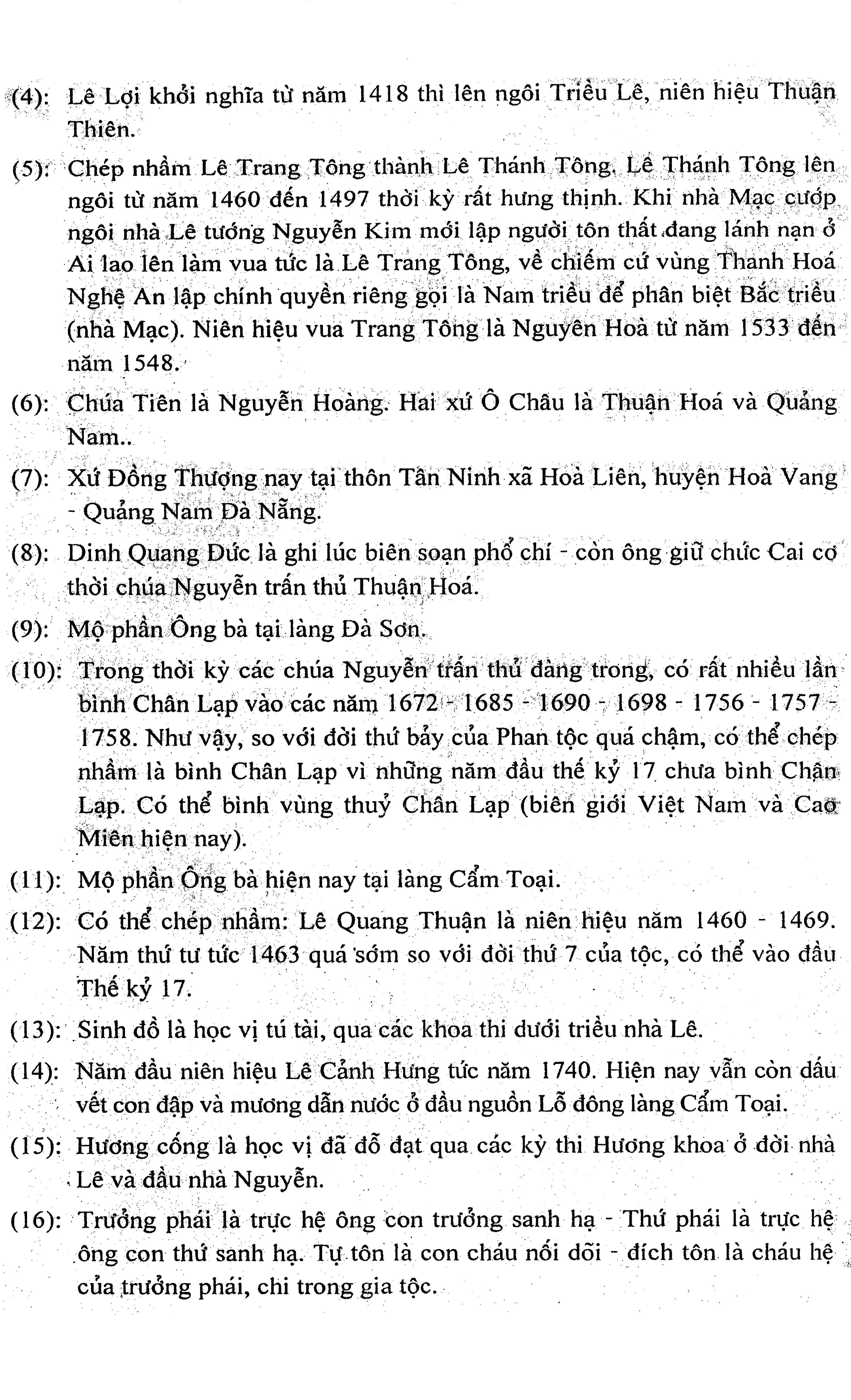 21 - Miền tháp cổ - Tác giả Vũ Hùng - Kỳ 10 - Phan tộc phổ chí Đà Sơn - Đà Ly nhị xã