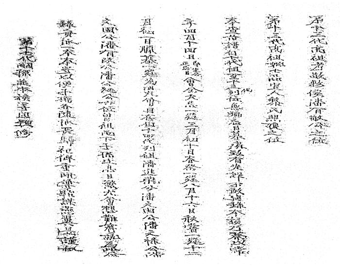 25 - Miền tháp cổ - Tác giả Vũ Hùng - Kỳ 10 - Phan tộc phổ chí Đà Sơn - Đà Ly nhị xã