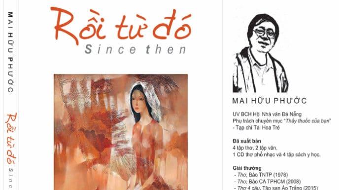 Tác giả Mai Hữu Phước - Tập thơ Rồi từ đó - Since then - vansudia.net