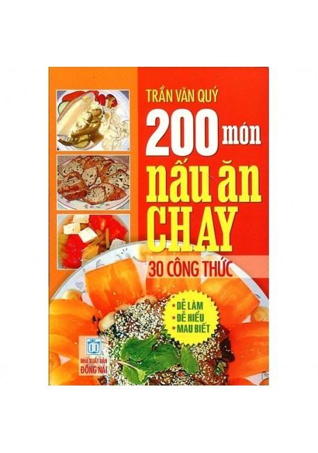 200 Món Nấu Ăn Chay - 30 Công Thức