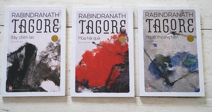 Các tác phẩm của Tagore do Bùi Xuân dịch được xuất bản tại Việt Nam