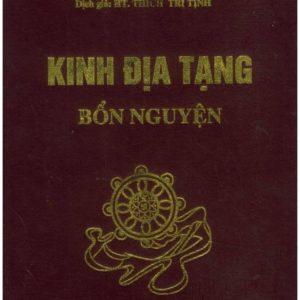 Kinh Địa Tạng Bồ Tát Bổn Nguyện Trọn bộ