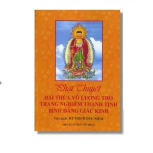 Phật Thuyết Đại Thừa Vô Lượng Thọ Trang Nghiêm Thanh Tịnh Bình Đẳng Giác Kinh (Bìa mềm)