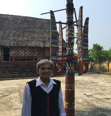 Già làng A Lăng Cần (Tà Lang, Hòa Bắc) (Ảnh: Đinh Thị Hựu, 2019)