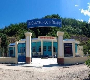Trường Tiểu học thôn Alua,xã Dàng, huyện Tây Giang (Ảnh: St)
