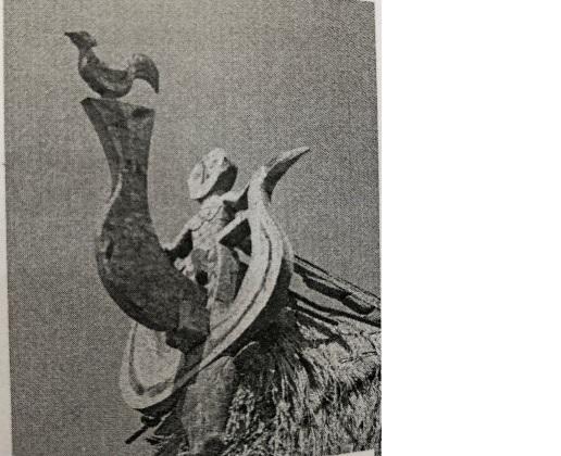 Đôi chim tr'iing, gà trống,đầu và sừng trâu (Ảnh: St)