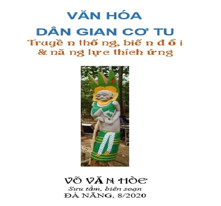 Tác phẩm điêu khắc gỗ Mẹ Rừng của nghệ nhân Bh'riu Pố, thôn A Rớh, xã Lăng, huyện Tây Giang.