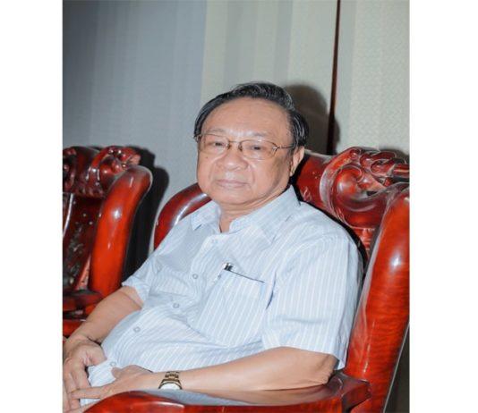 Tác giả Hải Nguyên - Nguyên Giám đốc Tổng Công ty Cung ứng tàu biển QNĐN
