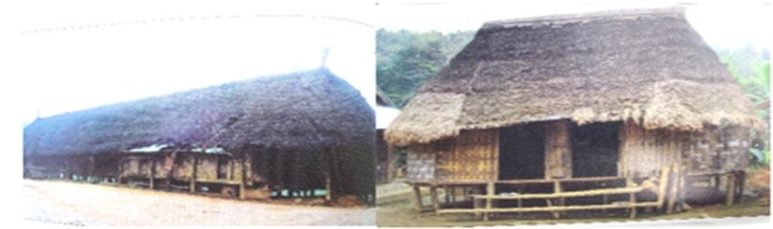 Nhà dài Cơ Tu & nhà sàn Cơ Tu (St)