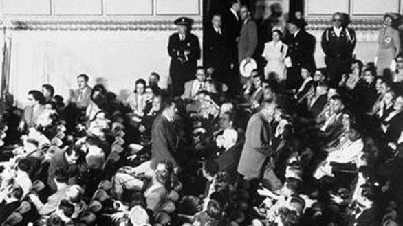 Quang cảnh hội nghị San Francisco 1951 - Ảnh tư liệu