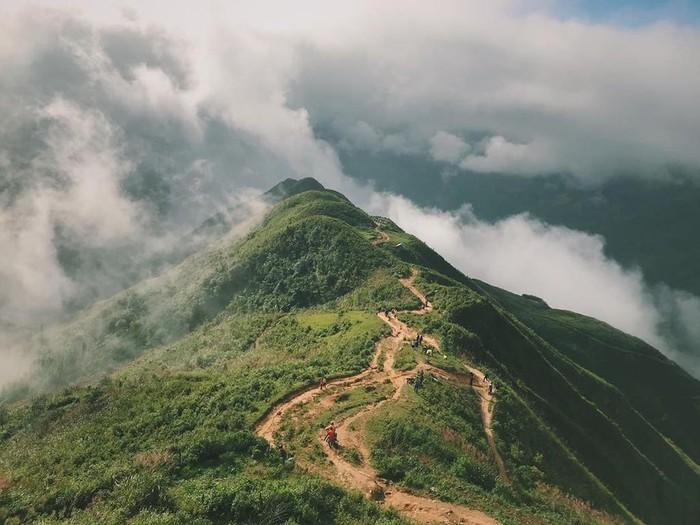 Du khách có thể bắt gặp hiện tượng biển mây ở Tà Xùa quanh năm, nếu may mắn đi vào ngày thời tiết phù hợp. Ảnh: Ninh_sen, Bongmieo.