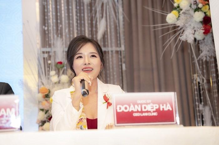 Dược sỹ Đoàn Diệp Hà – Giám đốc điều hành Lani Clinic
