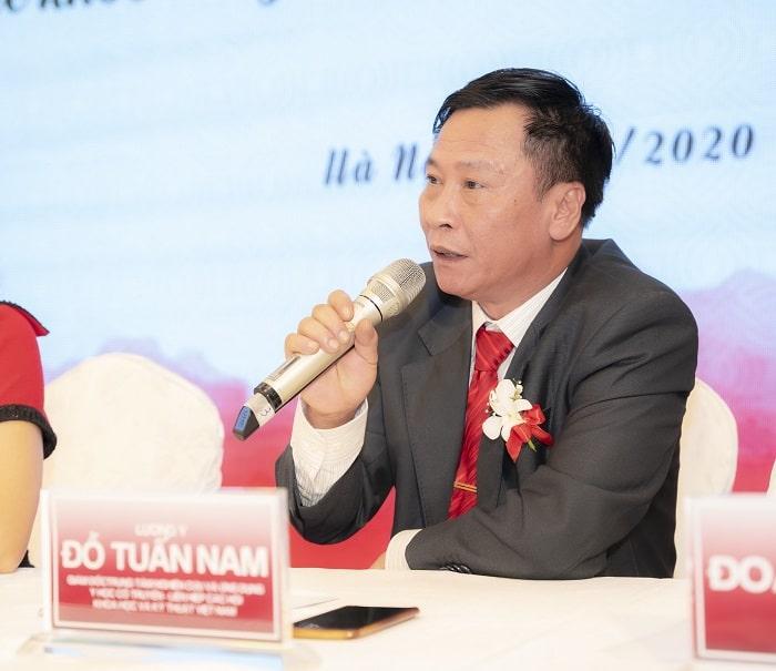 Lương y Đỗ Tuấn Nam - Trung tâm nghiên cứu và ứng dụng y học cổ truyền thuộc Liên hiệp các hội khoa học và kỹ thuật Việt Nam