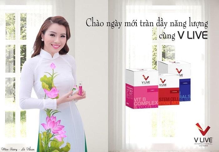 V Live International đã vinh dự đạt được Huy chương Vàng do Hiệp hội Thực phẩm chức năng Việt Nam trao tặng.