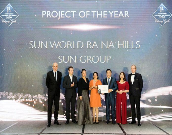 """Sun Group được vinh danh """"Nhà phát triển công trình vui chơi giải trí tốt nhất Đông Nam Á 2020"""""""