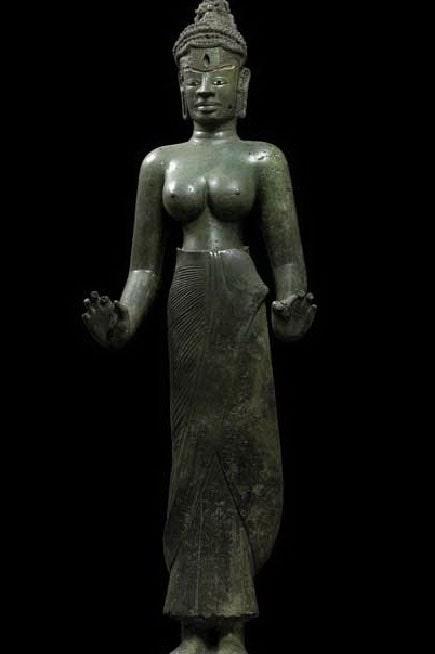 Tượng đồng Tara – nằm trong nhóm báu vật quốc gia