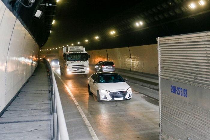 Việc đưa hầm Hải Vân 2 vào hoạt động sẽ giảm tải rất lớn cho hầm Hải Vân 1.