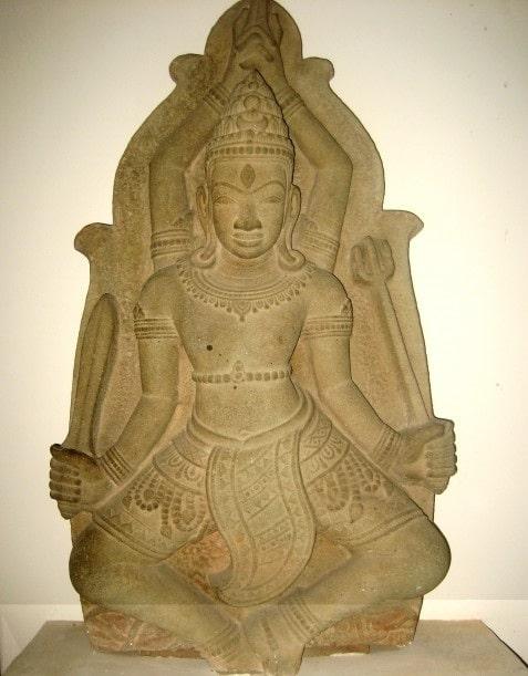 Tượng thần Siva - Tháp Mẫm - thế kỷ XII - XIV