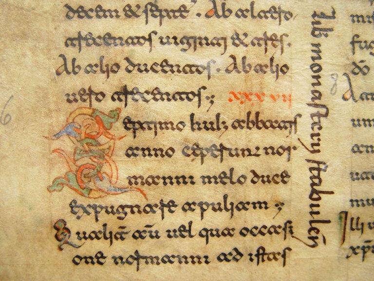 Kiểu chữ Beneventan, khoảng năm 1100