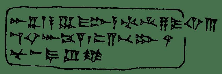 Mẫu tự Abecedary từ Ugarit