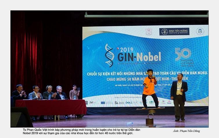 TS. Phan Quốc Việt và các học trò tự kỷ tại Tâm Việt (3)