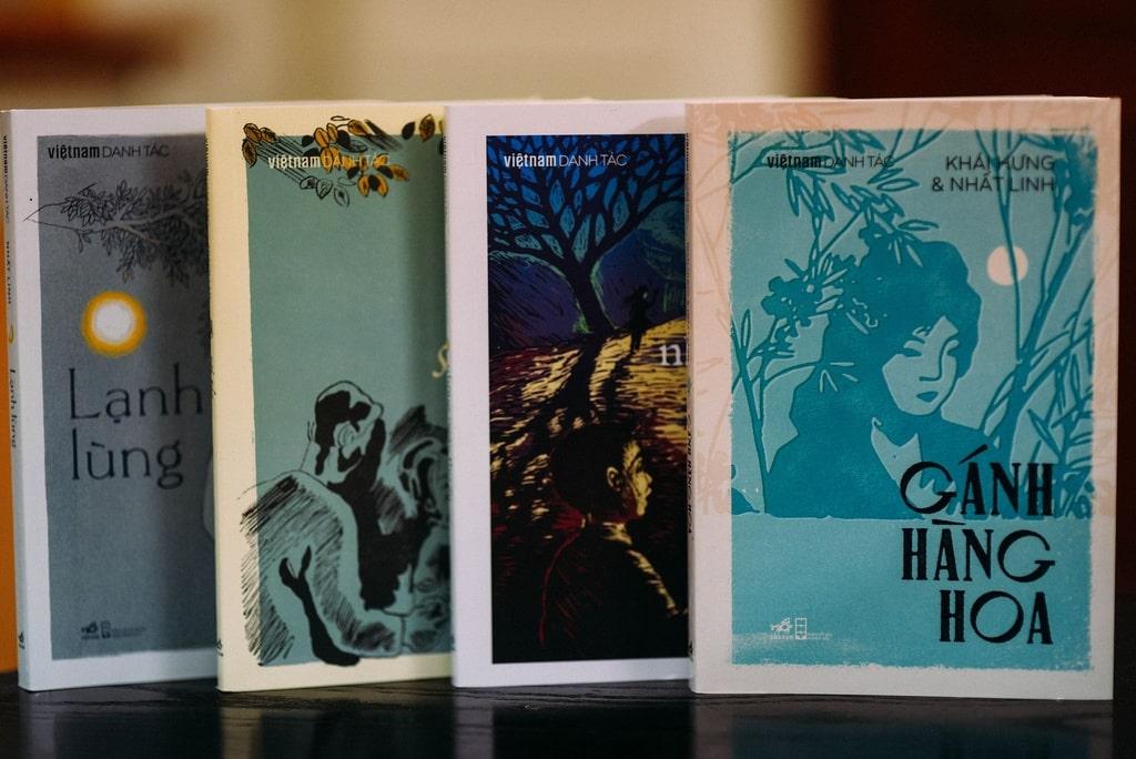 """Các tác phẩm trong tủ sách """"Việt Nam danh tác"""" nhận được sự quan tâm của nhiều độc giả trẻ. Ảnh:Nhã Nam"""