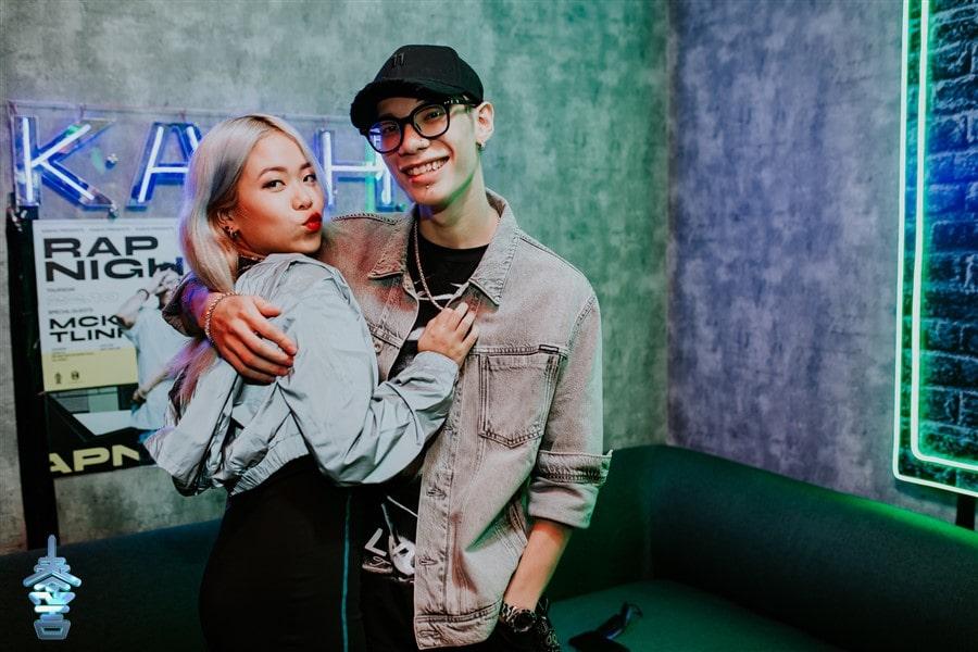 Cặp đôi ca sĩ nổi tiếng MCK và Tlinh