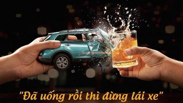 Đã uống rượu bia thì đừng lái xe (ảnh Internet)