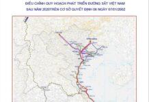 Bản đồ đường sắt Việt Nam